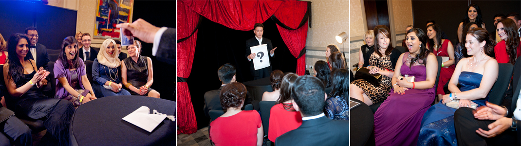 High end close up magic for your party or event by close up magician Jon Allen