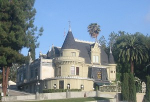 The Magic Castle in Hollywood